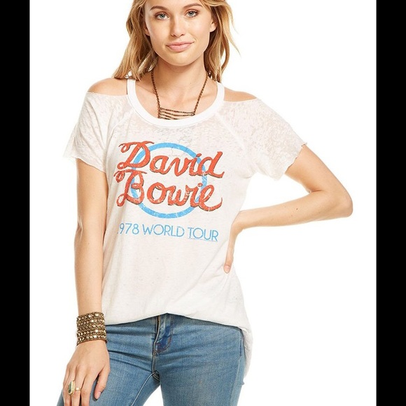 16f4a18a67 Chaser David Bowie Tour Tee
